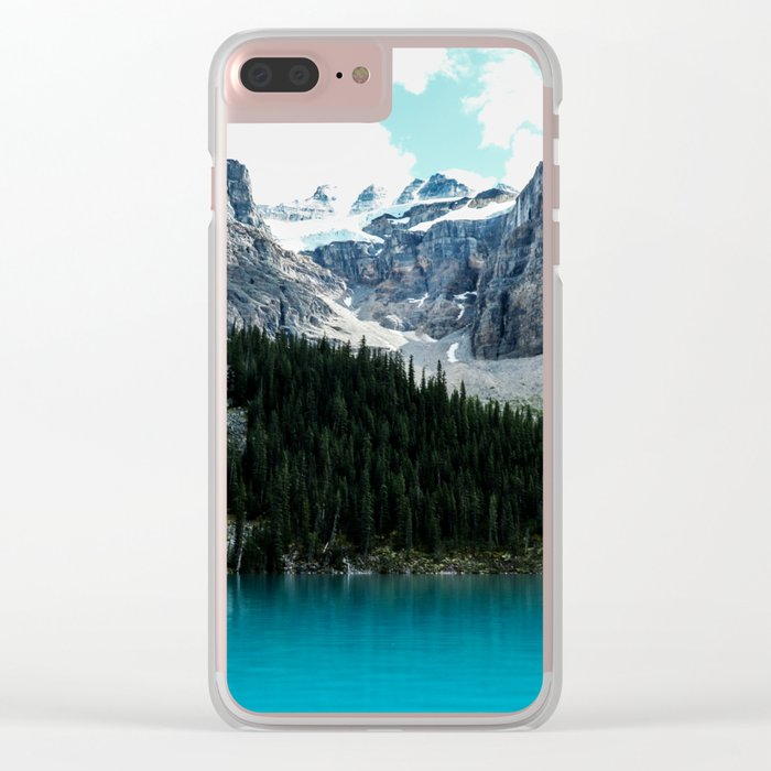 Moraine lake Wander (landscape) Clear iPhone Case