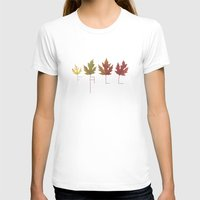 fall T-shirts featuring Fall by Janko Illustration