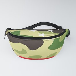Patriotic camouflage pattern Fanny Pack