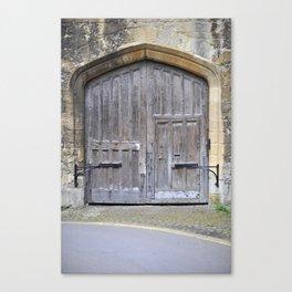 Oxford door 13 Canvas Print