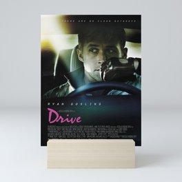 Drive Movie Poster Mini Art Print