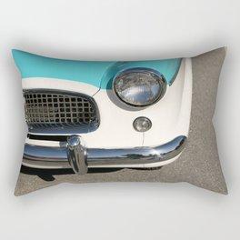 Vintage Car Headlight Rectangular Pillow
