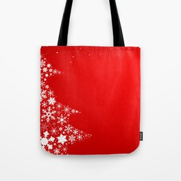 Red Christmas Tote Bag