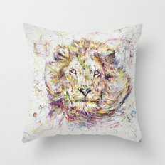 Lion // Tarmuk Throw Pillow