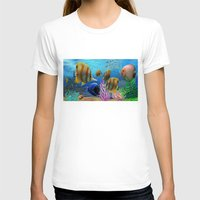 under the sea T-shirts featuring Under the Sea by Hand Fan