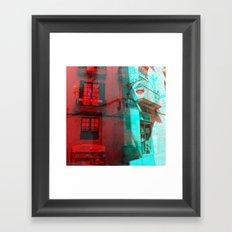 Listen attentively, move purposefully. Framed Art Print