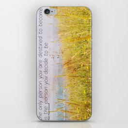 The Only Person iPhone Skin