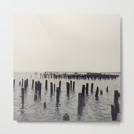 A Bay in Maine Metal Print