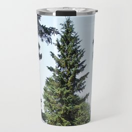 Evergreen Trees so Green Travel Mug