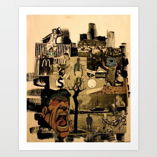 Disease Culture Art Print