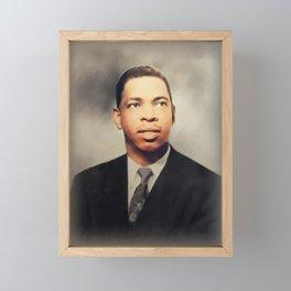 Elmore James, Music Legend Framed Mini Art Print