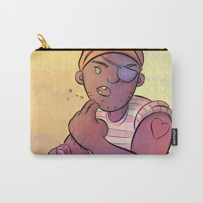 Stowaway Pirate Carry-All Pouch