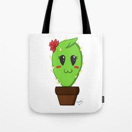 Unfortunate relationship: cute cactus black symbol Tote Bag