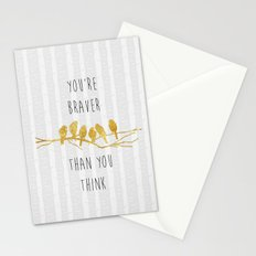 Brave Stationery Cards
