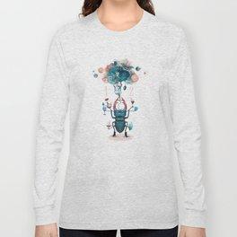 funny beetle Long Sleeve T-shirt