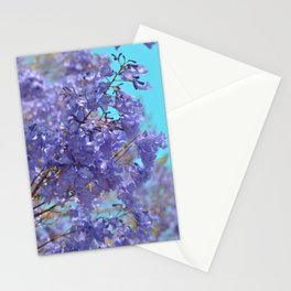 Purple and Blue Party! Stationery Cards