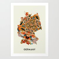 germany Art Prints featuring Germany by In Full Color