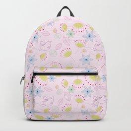 Birds Love Flowers Who Love Birds Backpack