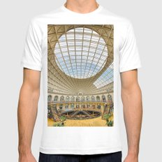 The Corn Exchange Interior Mens Fitted Tee White MEDIUM