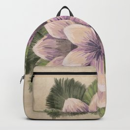 Ipomoea Triloba Sand Backpack
