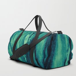 Turquoise marble Duffle Bag