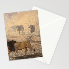 On Patrol by Alan M Hunt Stationery Cards