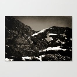 Lonely Mountains I Canvas Print
