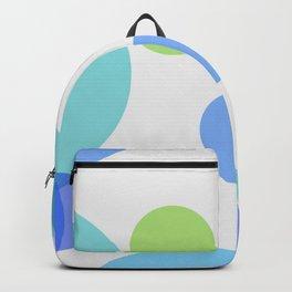 Blue Circles Backpack