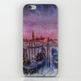 Graphic Art VENICE Gorgeous Sunset iPhone Skin