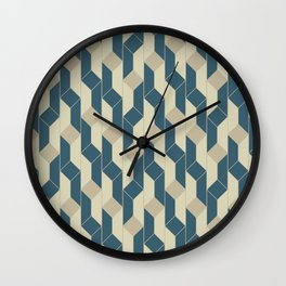 Bricasso .recycle Wall Clock