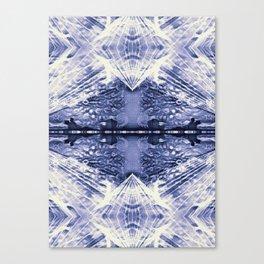 Lunar Diamonds Canvas Print