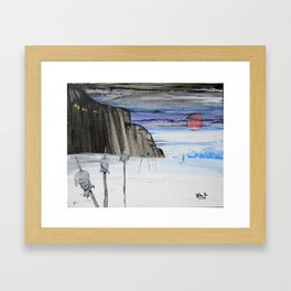 Impaled Framed Art Print