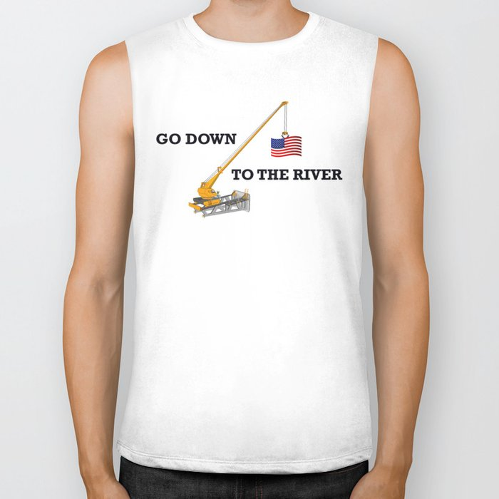Go down to the river Biker Tank