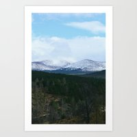 White Hills - Nydoa Photography Art Print