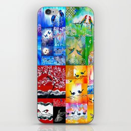 Rainbow Colors iPhone Skin