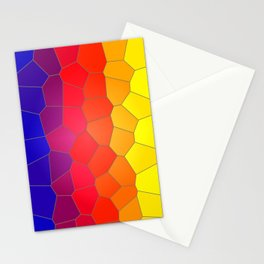 Coloured Mosaic Stationery Cards