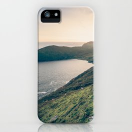 Keem Bay Sunset - nature photography iPhone Case