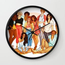 Marauders' Era group picture Wall Clock