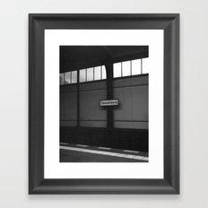 Gleisdreieck - Berlin Framed Art Print