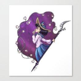Prism Portrait: Sailor Saturn Canvas Print