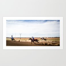 Country Racing Art Print