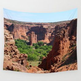 Canyon de Chelly View Wall Tapestry