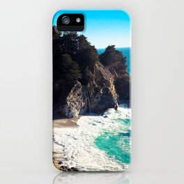 McWay Falls, California iPhone Case