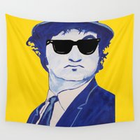 jake Wall Tapestries featuring Jake Blues 1 by Rachcox