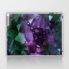 Crystal Geode Laptop & iPad Skin