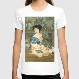 12,000pixel-500dpi - Kitano Tsunetomi - Top Quality Art - After Bath T-shirt