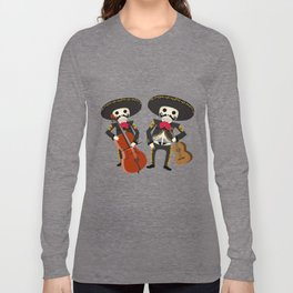 Mexico Mariachi Long Sleeve T-shirt