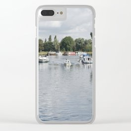 Norfolk Broads Clear iPhone Case