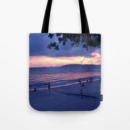 Sunset in Krabi Ao Nang Beach Tote Bag