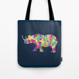 Abstract Rhino Tote Bag